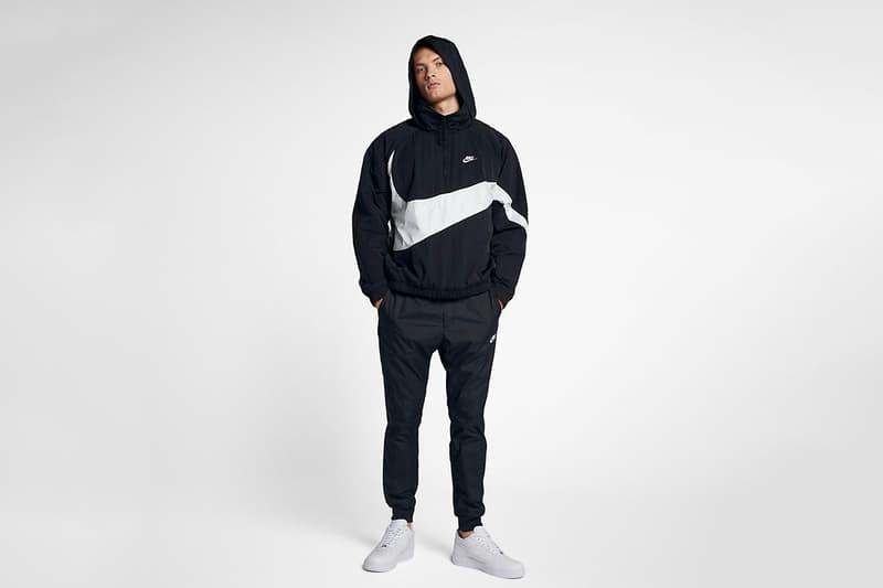 大 Logo 時代-Nike 超巨體 Swoosh Anorak Jacket