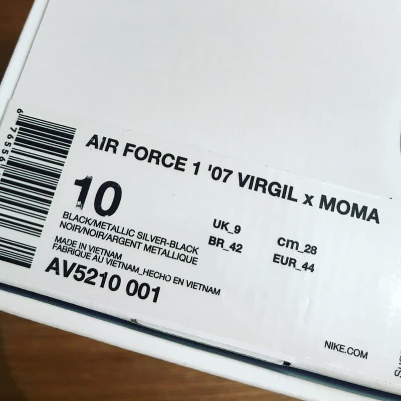 Off-White™ x Nike Air Force 1 全黑版本再次釋出