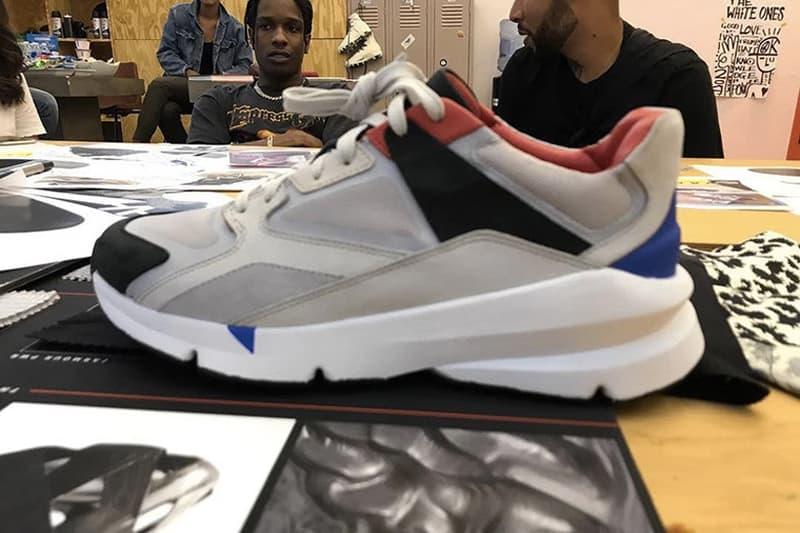 首度曝光!A$AP Rocky x Under Armour 全新聯乘鞋款前瞻