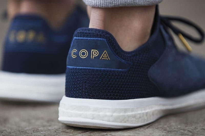 adidas 推出全新鞋款 COPA 18+ TR PREMIUM