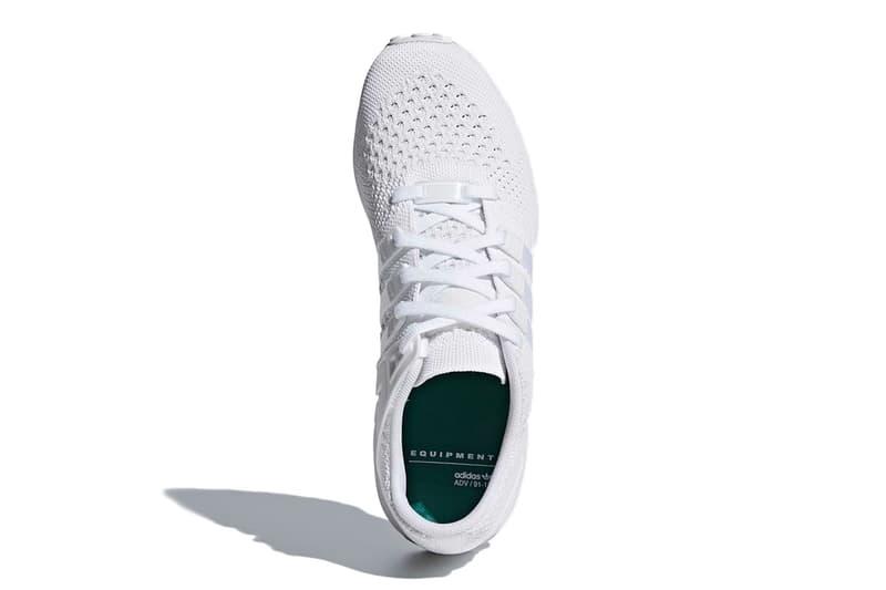 adidas EQT Running Support 93 Primeknit 全新配色設計「Triple White」
