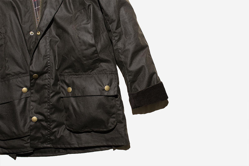 Barbour「修身版 Bedale」Ashby Wax Jacket 香港發售情報