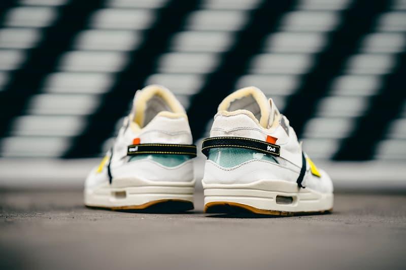 BespokeIND 打造「Off-White」主題 Nike Air Max 1 客製鞋款