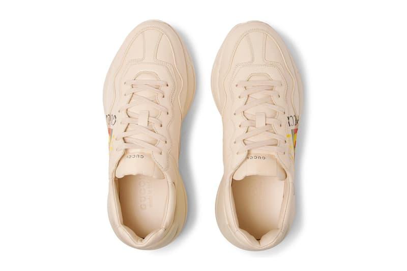Gucci 全新 Rhyton Sneaker 復古運動鞋上架