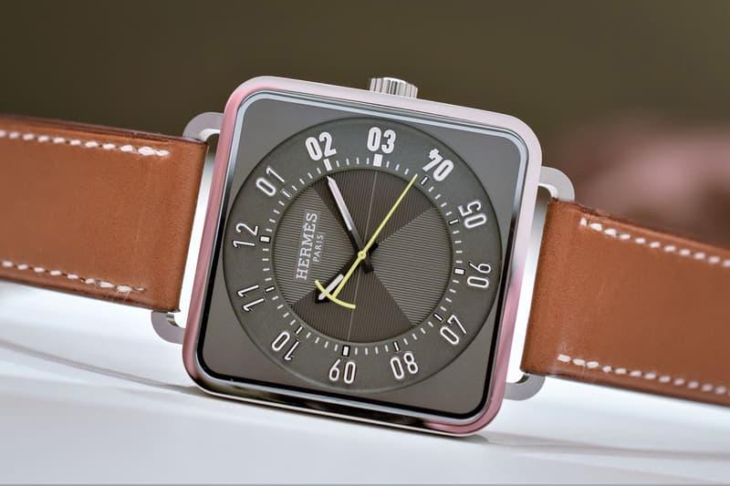 Hermès 推出全新 Carré H 腕錶系列