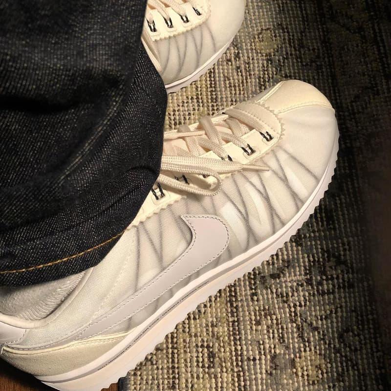 潮流教父藤原浩親着釋出 fragment design x Nike Cortez