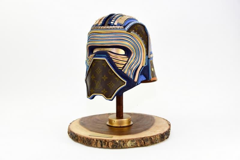 Louis Vuitton 復古素材改造《Star Wars》雕塑作品