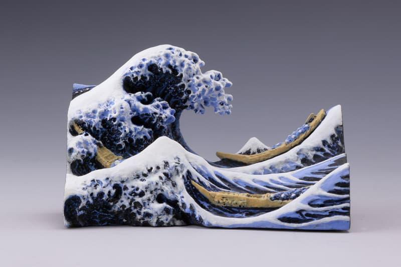 海洋堂全新推出浮世繪巨匠葛飾北齋之立體圖錄