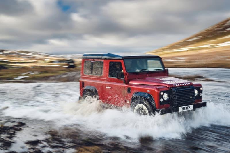 70 周年限量回歸!Land Rover 史上最強悍之 Defender 升級重生