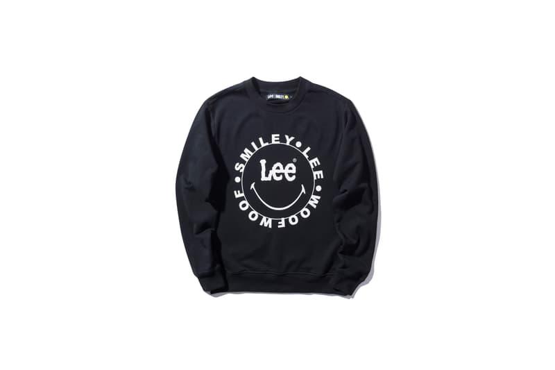 笑臉型人-Lee x Smiley 推出服裝聯乘系列