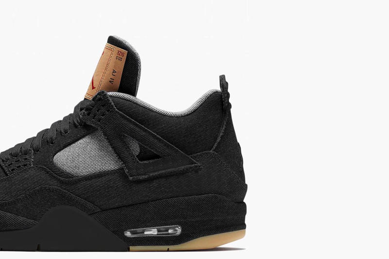 Levi s x Jordan Brand Air Jordan 4「Black Denim」疑似發售日公開 ... a8a2c70bc