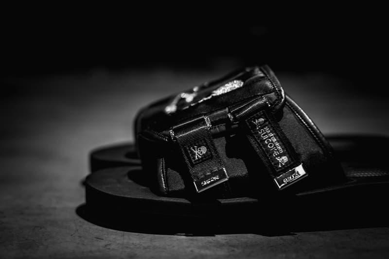 mastermind JAPAN x SUICOKE 2018 春夏聯乘 KAWS-VS 涼鞋