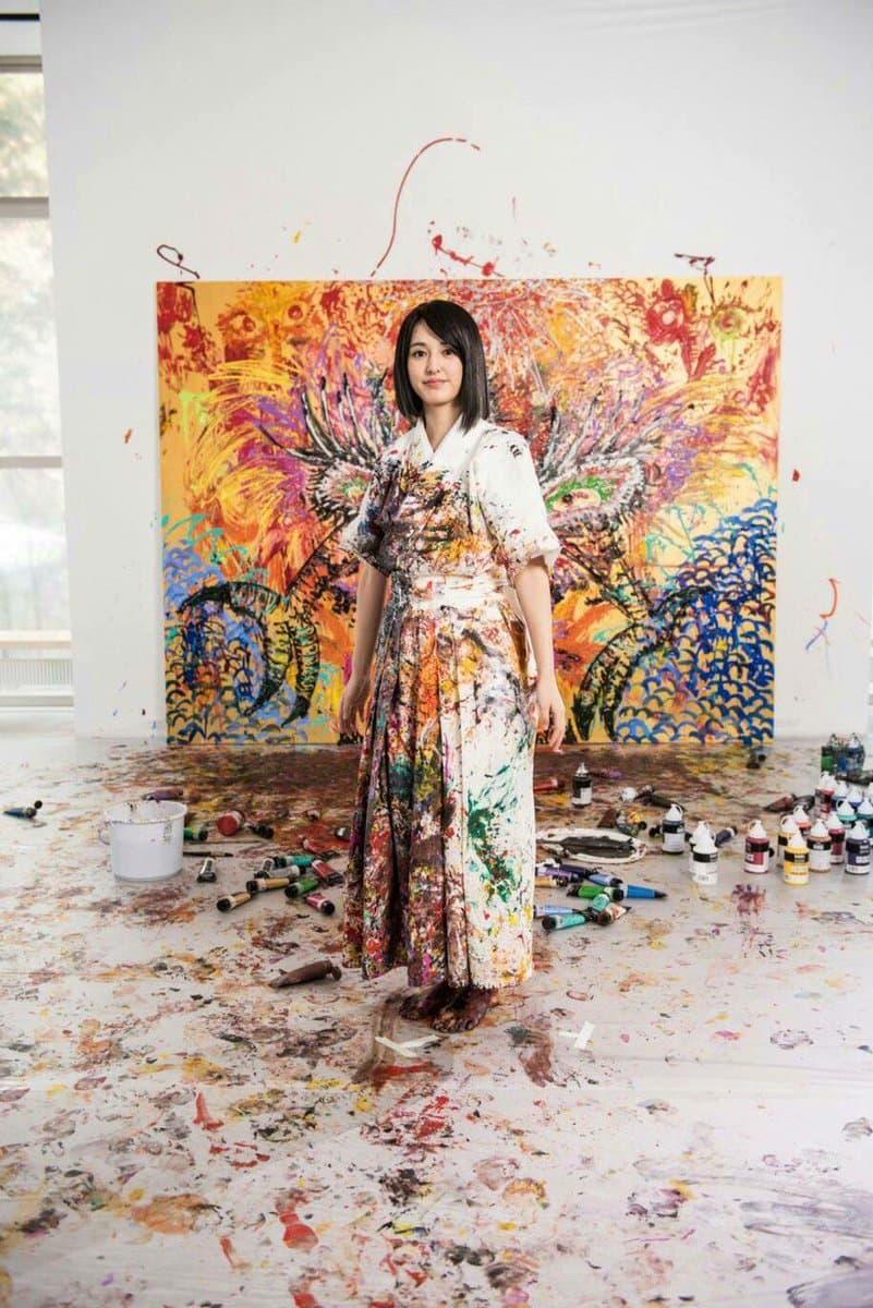 繪獸繪靈 - 日本藝術家小松美羽將再進行公開創作表演
