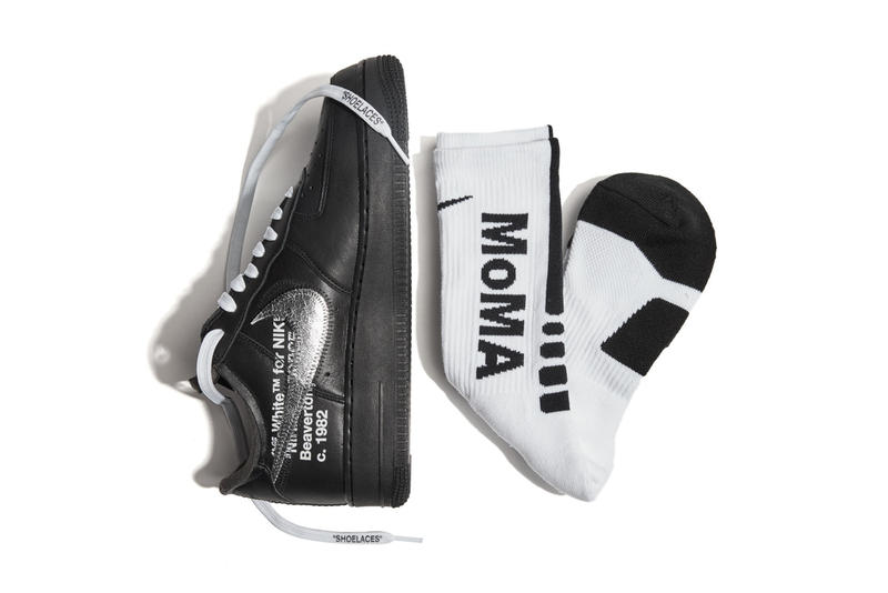 Virgil Abloh x Nike Air Force 1 for MoMA 聯乘鞋款發售詳情公開