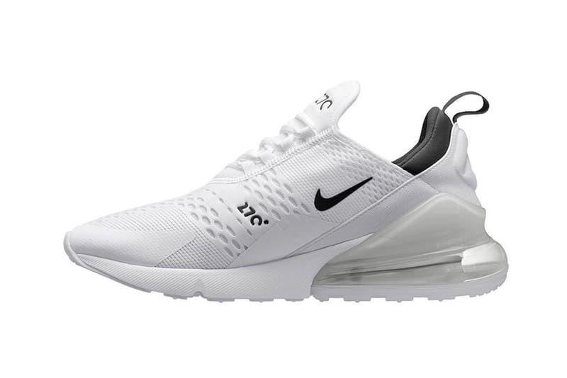搶先預覽 Nike Air Max 270 全新配色設計「Core White」