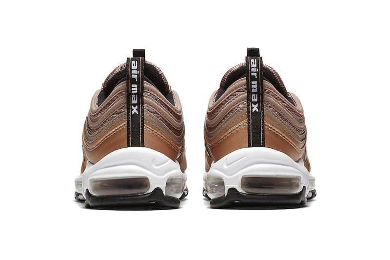 Nike Air Max 97全新配色設計「Metallic Red Bronze」