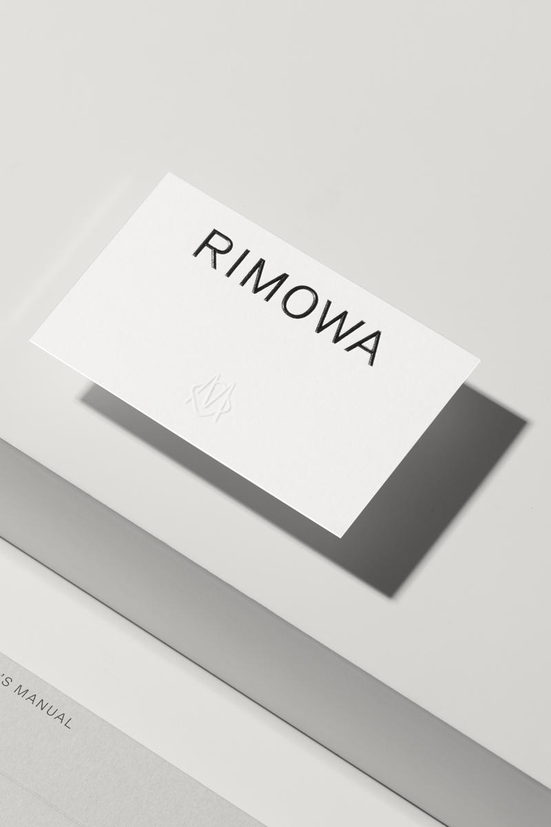 RIMOWA 轉換全新設計品牌形象