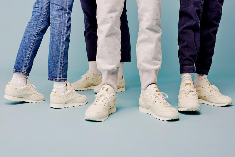 Sneakersnstuff x Reebok 攜手帶來高端簡潔的 Classic Leather 聯名作