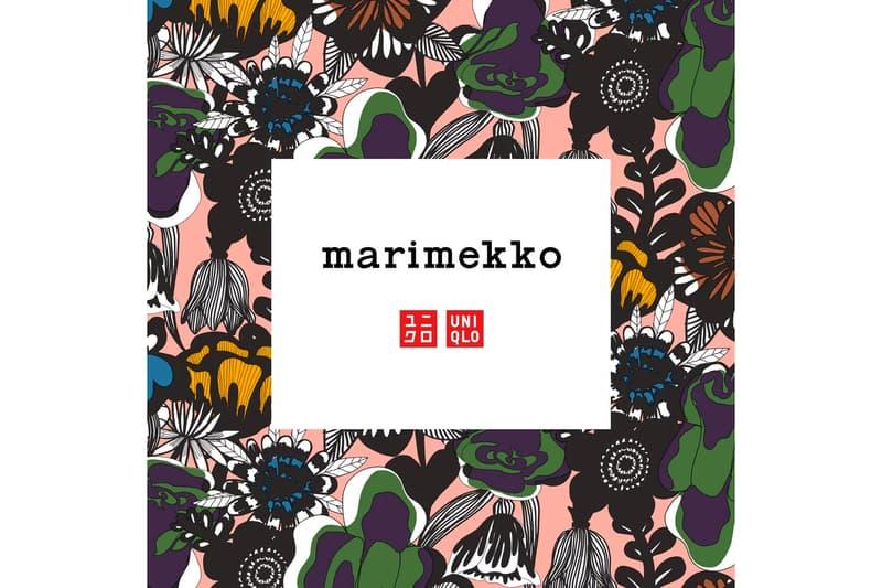 花樣喜悅-UNIQLO x Marimekko 聯乘服裝系列消息