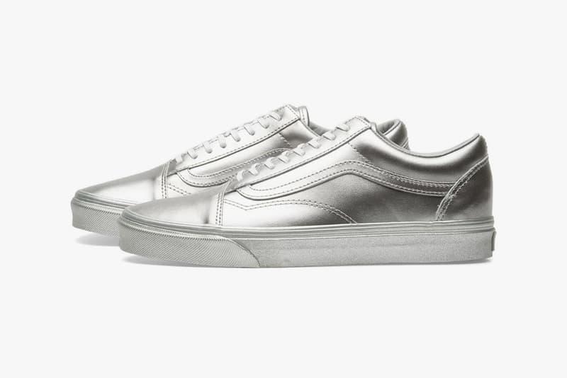 Vans 打造全銀色「Silver Pack」鞋款