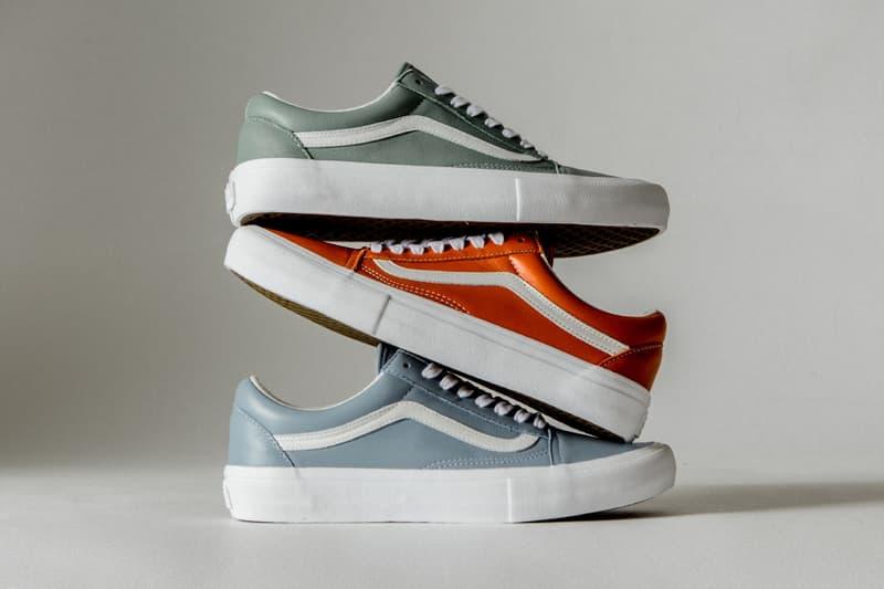 Vans Vault 以意大利高級皮革打造「Italian Leather」系列