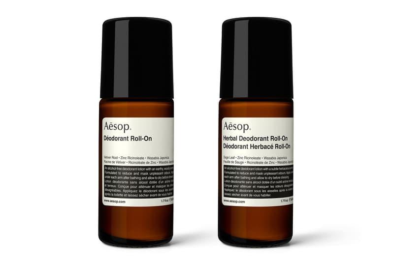 Aēsop 全新推出 Deodorant Roll-On 滾珠式體香劑