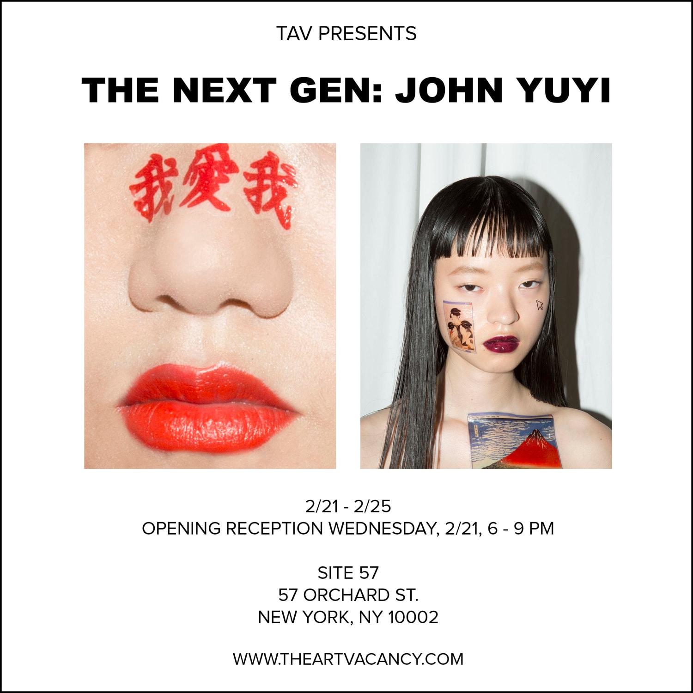 John Yuyi 首個個人展登陸紐約 The Art Vacancy