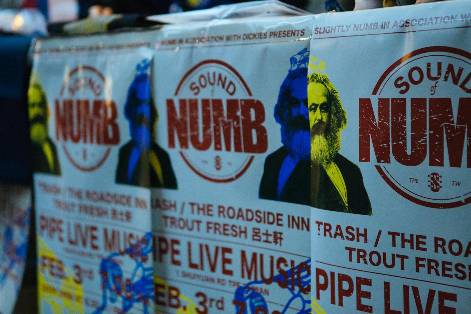 Slightly Numb & Dickies 主理人講述「SOUND of NUMB」背後動機