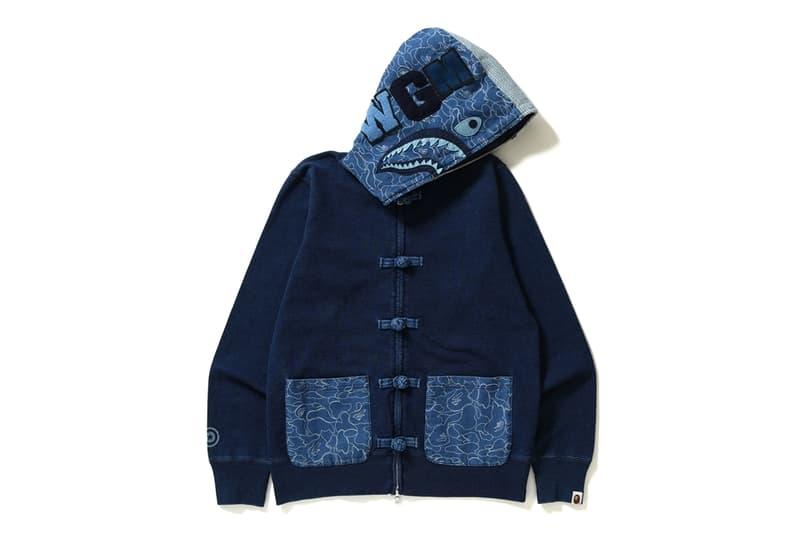 A BATHING APE® 推出新季度藍染 INDIGO Collection
