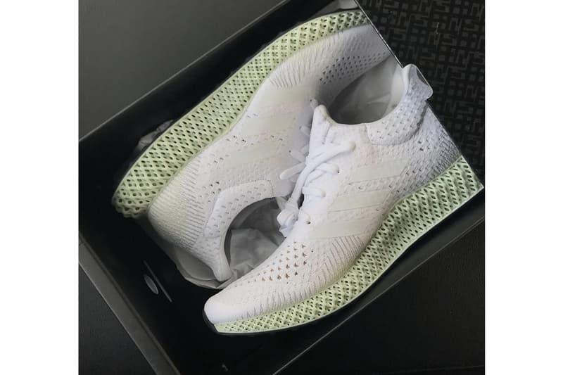 搶先預覽 adidas Futurecraft 4D「White」全新配色鞋款
