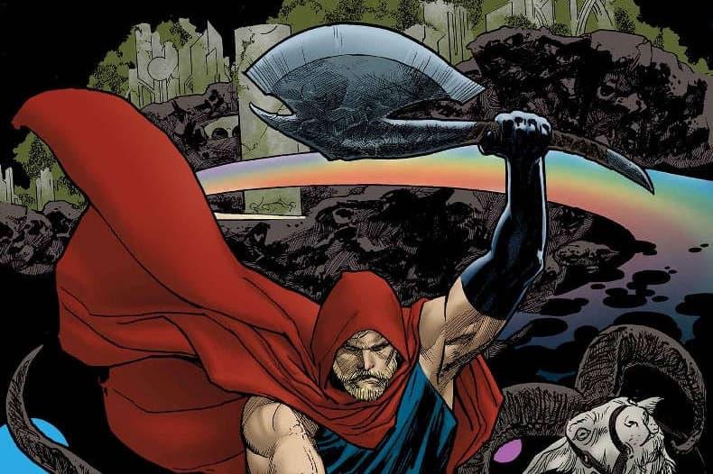 《Avengers: Infinity War》Thor 新武器 Jarnbjorn Axe 近賞圖確認