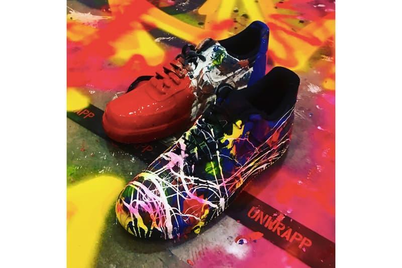 BIGBANG 隊長 G-Dragon 為好友打造 Nike Air Force 1 定製設計