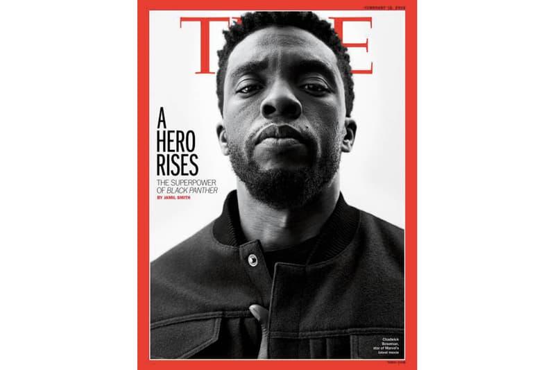 歷史性一刻!《黑豹》男主角 Chadwick Boseman 登上《TIME》雜誌封面