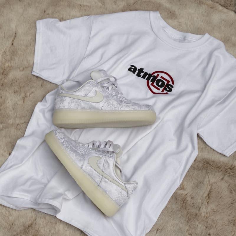 CLOT x Nike Air Force 1「白絲綢」即將登陸東京 atmos