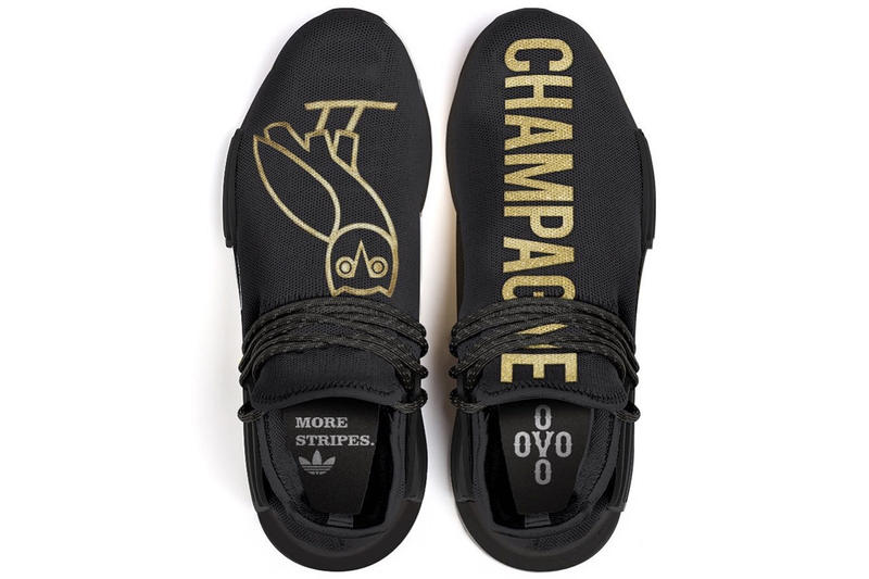 f4fd203ad6ea88 Drake x adidas Originals Hu NMD 客製聯乘鞋款
