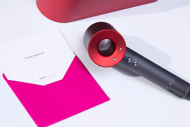 情人節之選-Dyson Supersonic™ 風筒推出紅色限定版及心意卡服務