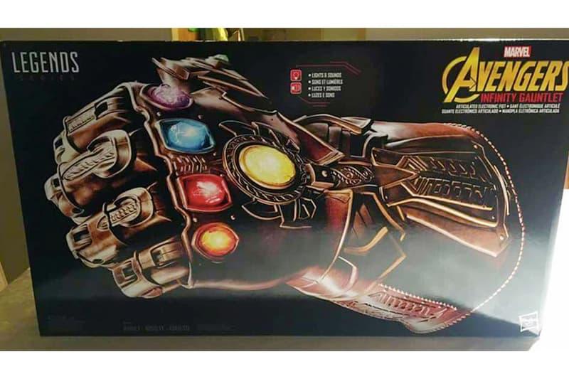 《Avengers: Infinity War》最強周邊!Hasbro 還原度極高之 1:1 無限手套玩具實物流出圖!