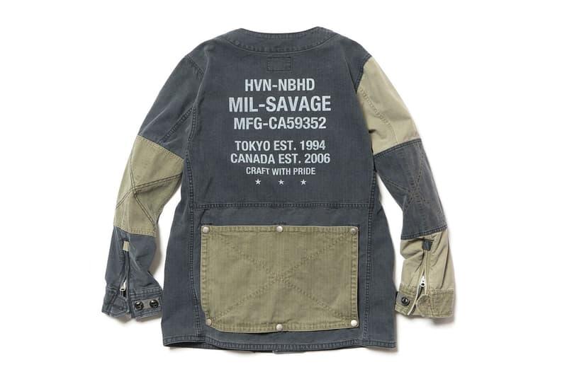 HAVEN x NEIGHBORHOOD「HVNH MIL-SAVAGE」聯乘系列正式上架