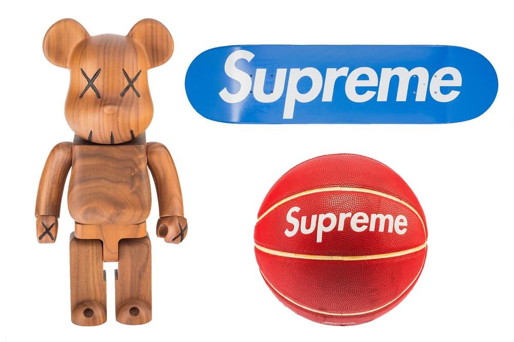 KAWS、Supreme 珍品現身 - Heritage Auctions x Madchild 打造潮流拍賣專場