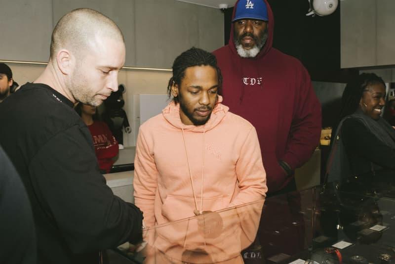 直擊 Kendrick Lamar「DAMN.」巴黎期間限定店舖發售現場