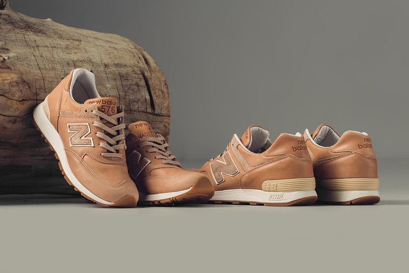 Horween x New Balance 576 Made in England 全新鞋款登場