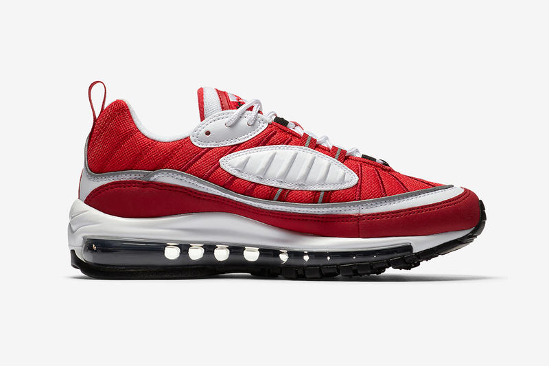 Nike Air Max 98 全新配色設計「Gym Red」