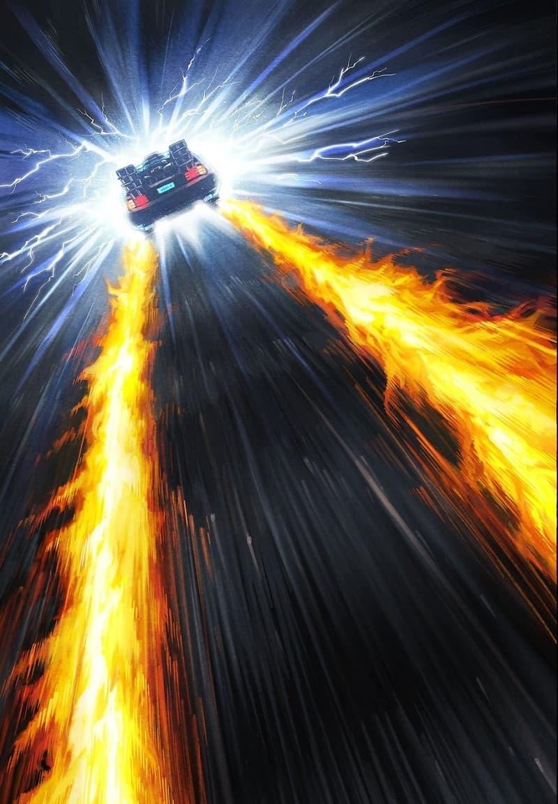 《一拳超人》漫畫家新作竟是經典科幻電影《Back to the Future》
