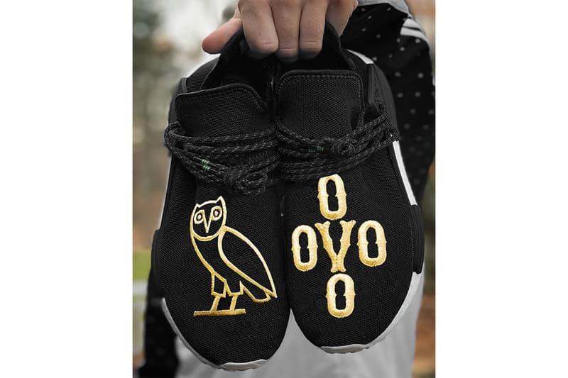 online retailer a9a03 87f69 OVO x adidas Originals Hu NMD 客製聯乘實鞋曝光!? | HYPEBEAST