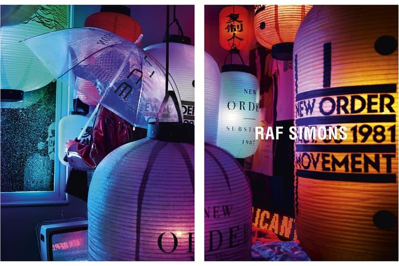 Raf Simons 2018 春夏系列宣傳大片