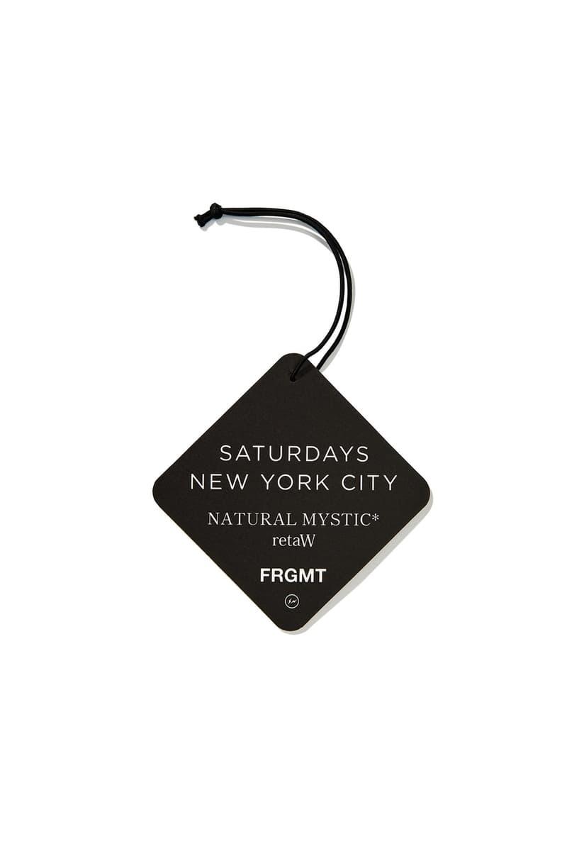 Saturdays NYC x fragment design 聯乘系列完整單品一覽