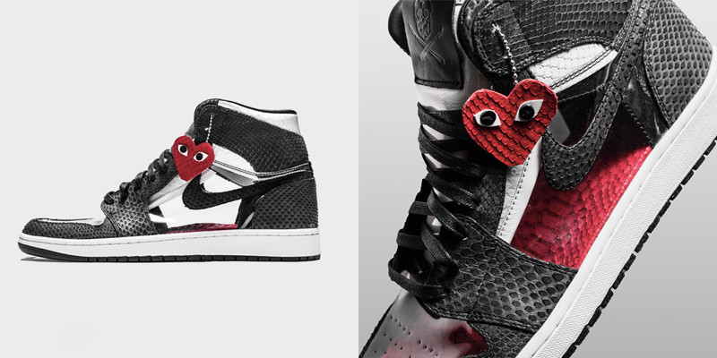 The Shoe Surgeon 打造COMME des GARÇONS x Air Jordan 1 全新客製聯乘 ... 629fe44567