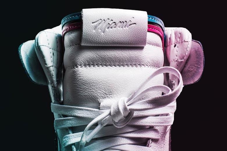 The Shoe Surgeon 攜手 Miami Heat 打造限量 Air Jordan 1