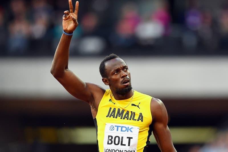 牙買加「飛人」Usain Bolt 宣布已跟足球會簽約