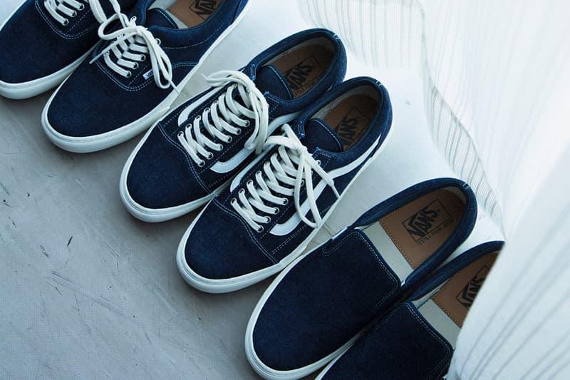Vans「Japan Fabrics Collection 」日本製布料系列藍染第一彈